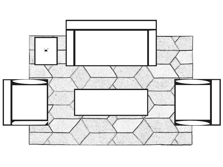 Rug Layout Guide Flair Rugs