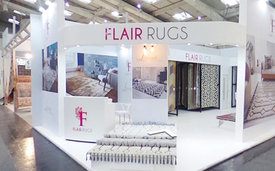 Take a virtual tour of Flair's Domotex stand