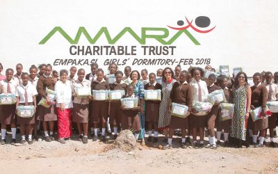 Flair Foundation sponsors girls dormitory in Kenya