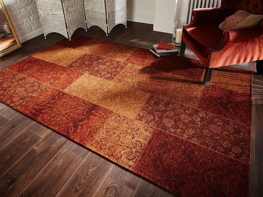 Manhattan-Patchwork-Chenille-Terracotta