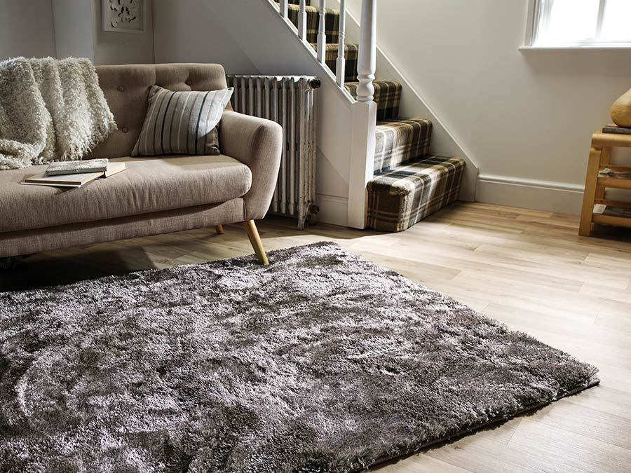 Serenity Shaggy Rug Collection Flair Rugs
