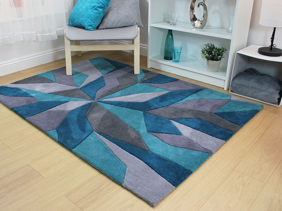 Eternity-Vivid-Teal-Rug