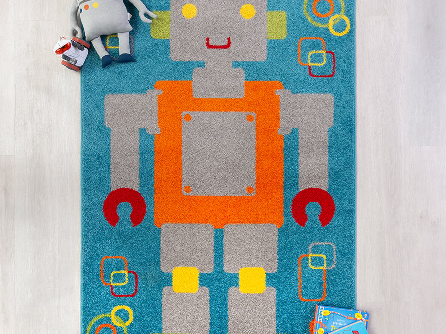 Play Days Robot Rug