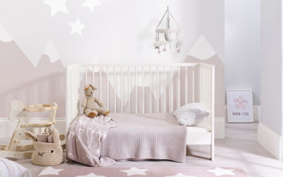 Find the Best Rug for your Babies Nursery with mum-to-be Georgina
