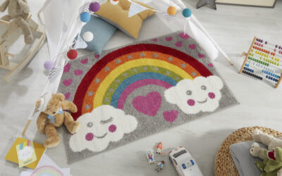 Say Hello to our Charity Rainbow Rug